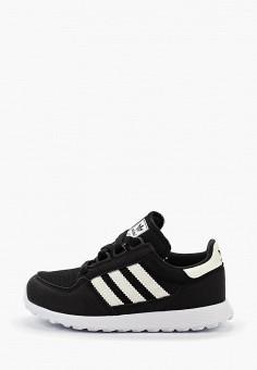 14efb18f Кроссовки, adidas Originals, цвет: черный. Артикул: AD093AKFKOE2. Девочкам  / Обувь