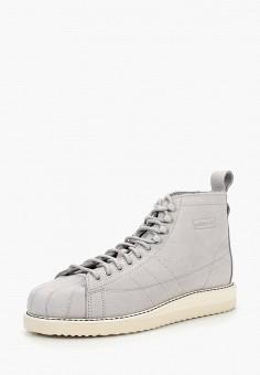 018f060f Кеды, adidas Originals, цвет: серый. Артикул: AD093AWCCZX8. Обувь /  Кроссовки