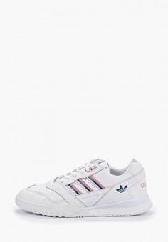 fb9579de560e Кроссовки, adidas Originals, цвет: белый. Артикул: AD093AWFKZU7. Обувь