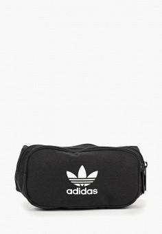 637fe3118643 Сумка поясная, adidas Originals, цвет  черный. Артикул  AD093BUEDUN6.  Аксессуары