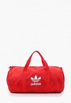 f1e6bf2d374a Сумка спортивная, adidas Originals, цвет: красный. Артикул: AD093BUFJWJ6.  Аксессуары /