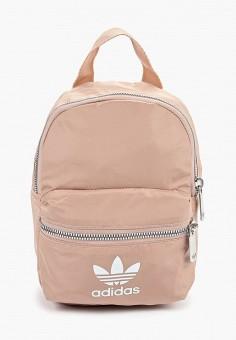 f22d9d84fa37 Рюкзак, adidas Originals, цвет: бежевый. Артикул: AD093BWFJWH0. Аксессуары  / Рюкзаки