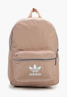 2207d09bbc8e Рюкзак, adidas Originals, цвет: розовый. Артикул: AD093BWFJWH8. Аксессуары  / Рюкзаки