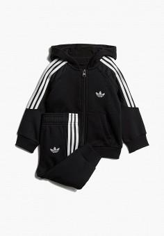 4b390c26 Костюм спортивный, adidas Originals, цвет: черный. Артикул: AD093EBEDUP6.  Мальчикам /