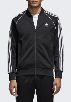 8ef4e93ec645f Олимпийка, adidas Originals, цвет: черный. Артикул: AD093EMALOJ0. Одежда /  Толстовки
