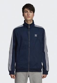 Олимпийка, adidas Originals, цвет  синий. Артикул  AD093EMCCZB1. Одежда    Толстовки 6230d8e834c