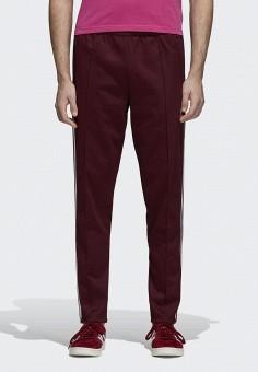 Брюки спортивные, adidas Originals, цвет  бордовый. Артикул  AD093EMCCZD9.  Одежда   d3876054e9f