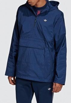 7537afe18387df Ветровка, adidas Originals, цвет: синий. Артикул: AD093EMEESE4. adidas  Originals