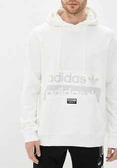 dd1399ab Худи, adidas Originals, цвет: белый. Артикул: AD093EMFKPM0. Одежда /  Толстовки