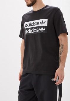 d034903d Футболка, adidas Originals, цвет: черный. Артикул: AD093EMFKPO8. Одежда /  Футболки