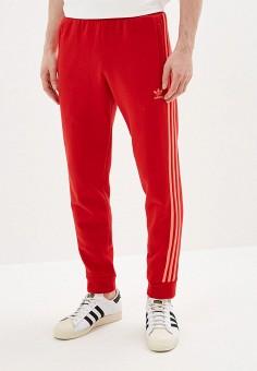 c4e85284a999da Брюки спортивные, adidas Originals, цвет: красный. Артикул: AD093EMFKPP4.  Одежда /