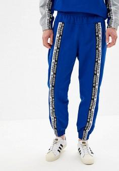 0ee1e4e21a65b4 Брюки спортивные, adidas Originals, цвет: синий. Артикул: AD093EMFKPR2.  Одежда /