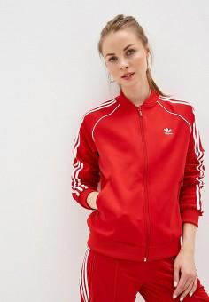 061d64cc Олимпийка, adidas Originals, цвет: красный. Артикул: AD093EWFKPU2. Спорт /  Все