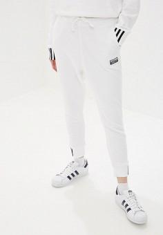 d8f75c68 Брюки спортивные, adidas Originals, цвет: белый. Артикул: AD093EWFKXK0.  Одежда /