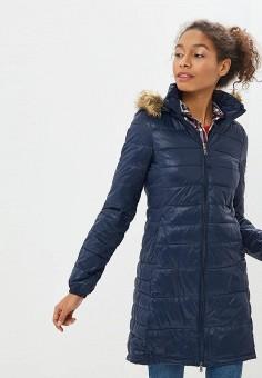 ea05c849 Куртка утепленная, Alcott, цвет: синий. Артикул: AL006EWDJZF1. Одежда /  Верхняя
