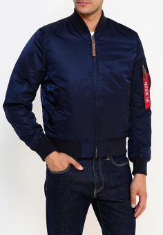 Куртка, Alpha Industries, цвет: синий. Артикул: AL507EMUHL01. Alpha Industries