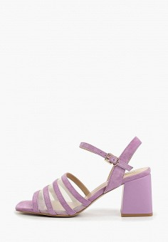 89695bab9bc126 Босоножки, Antonio Biaggi, цвет: фиолетовый. Артикул: AN003AWDMNK4. Обувь /  Босоножки