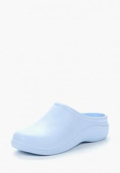 efbdf7b62 Сабо, Anra, цвет: голубой. Артикул: AN010AWASFN1. Обувь / Резиновая обувь