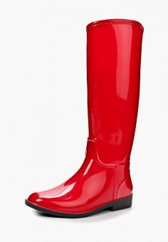 9afaf56a6 Резиновые сапоги, Anra, цвет: красный. Артикул: AN010AWBCY23. Обувь /  Резиновая