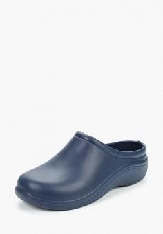 658b7f2be Сабо, Anra, цвет: синий. Артикул: AN037AWASFN0. Обувь / Резиновая обувь