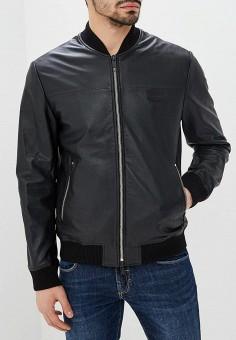 Куртка кожаная, Antony Morato, цвет  черный. Артикул  AN511EMEBIV7. Одежда   8da349e72c5