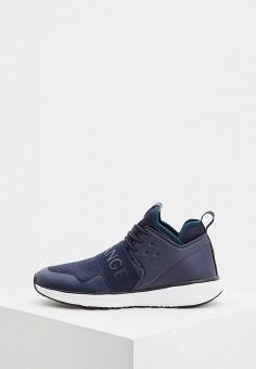 30cda0feef47 Кроссовки, Armani Exchange, цвет  синий. Артикул  AR037AMBKWR8. Premium    Обувь