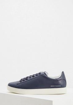427a8cca3 Кеды, Armani Exchange, цвет: синий. Артикул: AR037AMDPVR3. Premium / Обувь