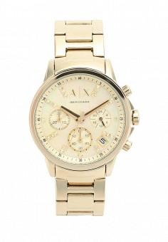 Часы, Armani Exchange, цвет  золотой. Артикул  AR037DWWCD34. Аксессуары    Часы 83674de620f