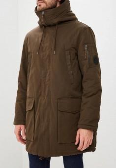 00ed84b97842 Парка, Armani Exchange, цвет  коричневый. Артикул  AR037EMBLDQ6. Одежда    Верхняя