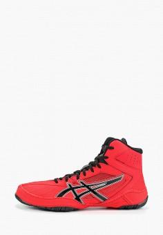 e39d8079f47b02 Борцовки, ASICS, цвет: красный. Артикул: AS455AMFPWI4. Спорт / Единоборства  /
