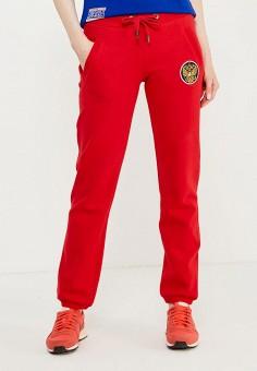 04c82231c5b8 Брюки спортивные, Atributika & Club™, цвет: красный. Артикул:  AT006EWTYH54