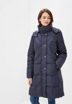 43c7be7c789f4 Пуховик, Dixi-Coat, цвет: синий. Артикул: AV011EWDBPA6. Одежда /