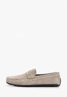 953ea07bd Мокасины, Bata, цвет: серый. Артикул: BA060AMEAKU8. Обувь / Мокасины и