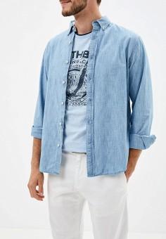 1b5f096ca0c1 Рубашка джинсовая, Banana Republic, цвет: синий. Артикул: BA067EMEWYV4.  Одежда /