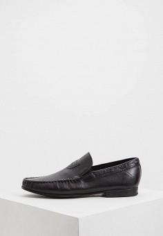 24109c7fcbda Лоферы, Baldinini, цвет: черный. Артикул: BA097AMEBOJ8. Premium / Обувь