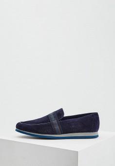 97d89ba5 Лоферы, Baldinini, цвет: синий. Артикул: BA097AMEBOM2. Обувь / Туфли /