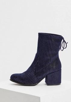 543633b4a Ботильоны, Baldinini, цвет: синий. Артикул: BA097AWCEGK7. Обувь / Ботильоны