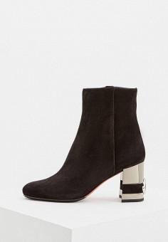 552bc88ee649 Ботильоны, Baldinini, цвет  черный. Артикул  BA097AWCEGL2. Обувь   Ботильоны