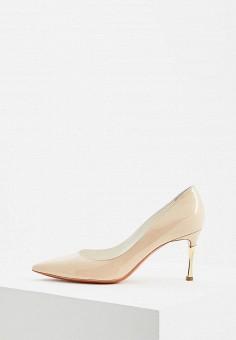 82899e5c0 Туфли, Baldinini, цвет: бежевый. Артикул: BA097AWEBOY3. Premium / Обувь /