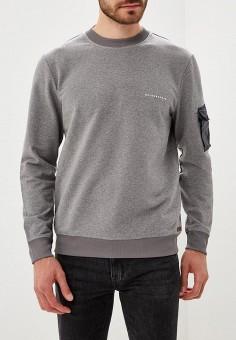 Свитшот, Baldessarini, цвет  серый. Артикул  BA244EMCKYQ7. Одежда    Толстовки и 31d9fde4c9b