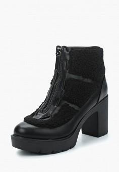 Ботильоны, Befree, цвет: черный. Артикул: BE031AWYNV48. Обувь / Ботильоны
