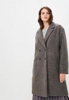 c8efac8dbb000 Пальто, Befree, цвет: серый. Артикул: BE031EWBXHP1. Одежда / Верхняя одежда