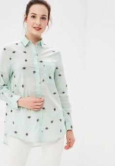 118da2662ec0 Купить зеленые женские рубашки от 579 руб в интернет-магазине Lamoda.ru!