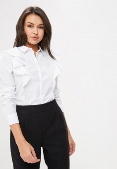 7cece12f028e Блуза, Befree, цвет  белый. Артикул  BE031EWBXMB9. Одежда   Блузы и