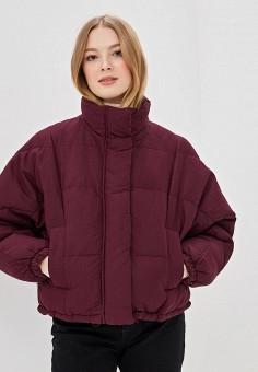 b1248c712d92e Куртка утепленная, Befree, цвет: бордовый. Артикул: BE031EWDULM2. Одежда /  Верхняя