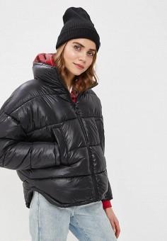 6e1225e5c8af Куртка утепленная, Befree, цвет  черный. Артикул  BE031EWDUMH7. Одежда    Верхняя
