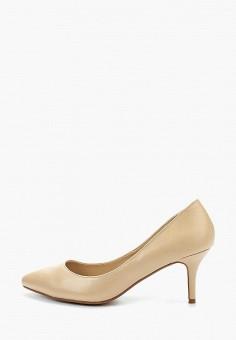 7fab37ef59d6 Купить бежевые женские туфли от 399 руб в интернет-магазине Lamoda.ru!