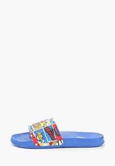 3edfc7e06 Сланцы, Beppi, цвет: синий. Артикул: BE099ABEMOK1. Мальчикам / Обувь
