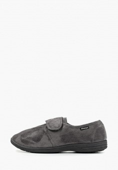 ad6c3ad001ba7 Тапочки, Beppi, цвет: серый. Артикул: BE099AMFQHP9. Обувь / Домашняя обувь