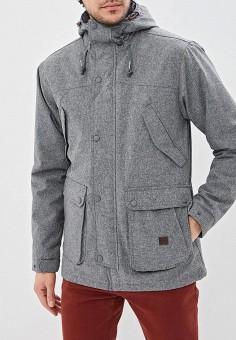 79543350 Куртка утепленная, Billabong, цвет: серый. Артикул: BI009EMEFET2. Одежда /  Верхняя